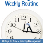 90 Day Wonder Weekly Routine